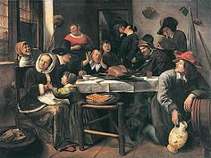Liveliest - Jan Steen  -  Completion Date: 1660