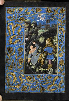 Book of hours, MS M.493 fol. 54v - Images from Medieval and Renaissance Manuscripts - The Morgan Library & Museum