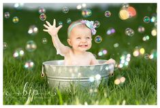 One Year Pictures, Baby Girl Pictures, Newborn Pictures, Babys First Pictures, Easter Pictures For Babies, Outdoor Baby Pictures, Bath Pictures, First Year Photos, Birthday Photography
