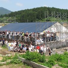 Our brothers and sisters from all over the world volunteered their time, effort,  resources to rebuild in Japan after the earthquake  tsunami devastated homes  Kingdom Halls in the region.