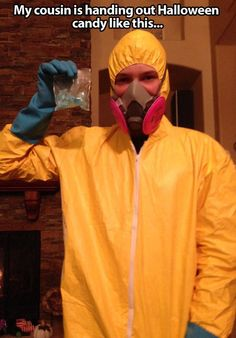 Breaking Bad Halloween Costume ---- funny pictures hilarious jokes meme humor walmart fails