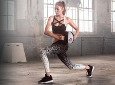 Gigi Hadid by Cathrine Wessel for Reebok #PerfectNever Campaign