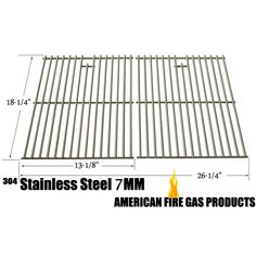 WEBER 7521 STAINLESS STEEL COOKING GRID REPLACEMENT FOR