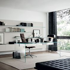 Superior Air Glass Desk By Gallotti U0026 Radice   Klarity Luxury Office, Ceo Office,  Executive