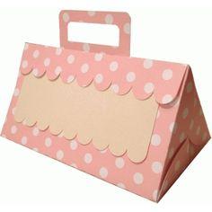 Silhouette Design Store - View Design #53985: scallop gift box