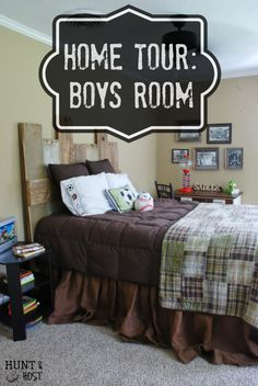 Hunt & Host Home Tour: Boys Room