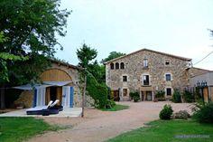 Escapada rural en Mas Carreras 1846, en Bordils, en el interior de la Costa Brava y muy cerca de pueblos con encanto como Monells, Peratallada...