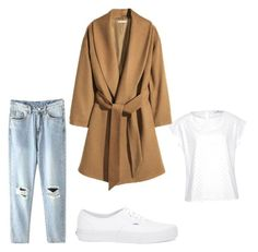 """""""Autumn day - Sport casual"""" by beefashionable on Polyvore featuring Mode, Hahn und Vans"""