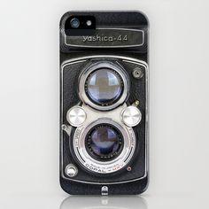 Vintage Camera Yashica 44 iPhone & iPod Case by Maximilian San - $35.00 #iphonecase #iphone #iphone6 #iphone6case #cover #iphone6cover #protection #iphoneprotection #phonecover #ombre #lights #photography #monikastrigel #popular #popularcase #society6 #iphone6plus #camera #vintage #photo #reflex #retro #vintage camera #camara #antigua