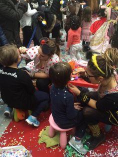 Una maschera alternativa e su misura? Il body painting per bambini! Le nostre make up artist hanno esaudito tutti i desideri dei più piccoli! #Carnevale #IGigli