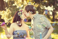 Bubbles and lovers