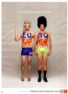 Hamish and Andy, all of the gap year series are hilarious. Die A Happy Man, Dream Career, Gap Year, Music Tv, Hilarious, Funny, New Series, Comedians, I Laughed