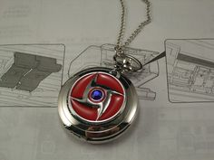 watch necklace red Naruto blue crystal vintage style silver Necklace pocket watch charm pendant Naruto Clothing, Vintage Style, Vintage Fashion, Watch Necklace, Blue Crystals, Pocket Watch, Fan, Watches, Pendant