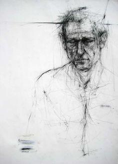Ginny Grayson - Stuart, 2007 charcoal on paper