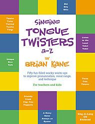 Singing Tongue Twisters A-Z, great resource!