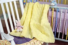 Sunshine Dots Blanket by Carol Carlile   free