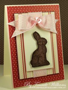 Chocolate Bunny Stamp