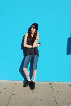#bluesclues #fashion #isabelmarant #commedesfuckdown #zara #denim #style #blog #blogger #beanie #lavieenliz #cute #girl #blue #melrose #leather
