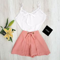 Pretty Outfits, Cool Outfits, Summer Outfits, Look Fashion, Fashion Outfits, Womens Fashion, Fashion Vocabulary, Feminine Style, Aesthetic Clothes