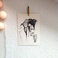 """Lámina Otelo.Colección """"Bocetos de Shakespeare"""".Edición limitada firmada por Marina Guiu.Impresión sobre papel digital de conquistador de 300gr.Medida A4 (21x 29,7 cm).Para más información:espacio-store@hotmail.com"""