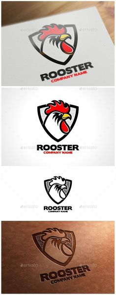 Rooster Logo Template — Vector EPS #unique #rooster Logo • Available here → https://graphicriver.net/item/rooster-logo-template/9751709?ref=pxcr