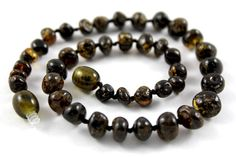 Perfect Baby Teething Baltic Amber Necklace on Etsy, $12.99