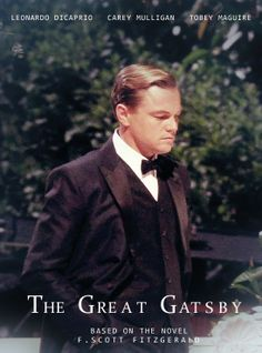 Leo Dicaprio as The Great Gatsby