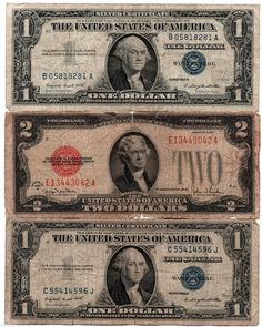 100% Rare Very Old Vintage 1935 1957 US Silver Certificate Lot Antique $2 Dollar http://spain-travel-now.info/sn/re/?query=331680824615…
