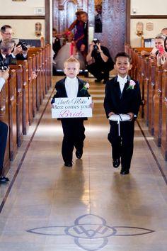 Wedding - my two boys ! Adorable