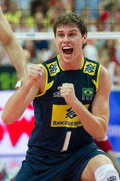 Bruno Rezende of Brazil Volleyball Team  Fot. Mariusz Pałczyński / http://www.facebook.com/MariuszPalczynskiPhotography