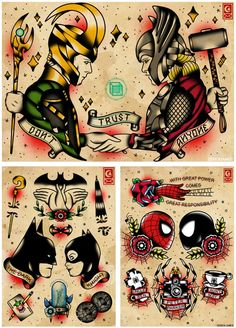 Superhero Marvel and DC                                                                                                                                                      More