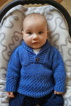 10 Besten Ravelry: Boy Sweater pattern by Lisa Chemery , Boys Knitting Patterns Free, Baby Cardigan Knitting Pattern Free, Baby Sweater Patterns, Knitted Baby Cardigan, Knit Baby Sweaters, Knitted Baby Clothes, Baby Hats Knitting, Boys Sweaters, Knitting For Kids