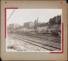 [Looking northeast toward Riverside Park from 77th Street.]