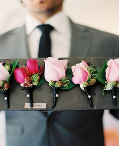 15 Handsome Ideas for Boutonnière's