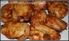Recipes of a Cheapskate: Honey Brushed Chicken--Want to try it on the grill!