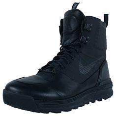 Nike Mens Lunar Terra Arktos ACG Winter Boots, Size 8.5. Black/Anthracite -