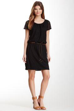 Tiana B | Tiana B. Belted Lace Dress | HauteLook - $30