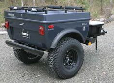 Off Road 4 x 4 Trailers, and All Terrain Cargo Trailers Tentrax