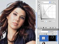 Adding Highlights To Hair Photoshop - YouTube