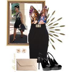 Styling Ms. Elise, created by msmeena on Polyvore