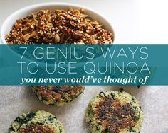 7 Genius Ways to Use Quinoa You Never Would've Thought Of