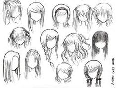 anime female characters with short white hair - Google Search