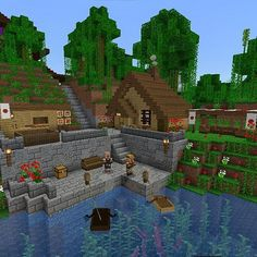 - sasa People like Minecraft due to 3 uncomplicated items, possession, replayability and capability Minecraft World, Villa Minecraft, Casa Medieval Minecraft, Minecraft Structures, Minecraft Castle, Cute Minecraft Houses, Minecraft House Designs, Amazing Minecraft, Minecraft Architecture