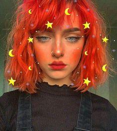 顔 halloween makeup hacks - Halloween Makeup Kawaii Makeup, Cute Makeup, Makeup Looks, Hair Makeup, Aesthetic Hair, Aesthetic People, Aesthetic Makeup, Aesthetic Food, Peach Aesthetic
