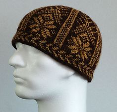 Ravelry: Project Gallery for Picot Hem Stranded Snowflake Hat pattern by Kathleen Taylor