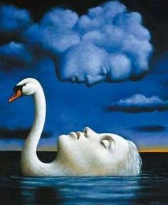 """I have been loved,"" she said, ""by something strange, and it has forgotten me."" Djuna Barnes, Nightwood / Rafal Olbinski"