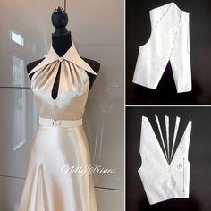 #nellytrines #vintagestyle #isew #pinup #sewingtips #vintagedress #1930sfashion ##halterdress #naaien #nähen #jurk #patternmaker #dressmaker #шьюсама #шитьё