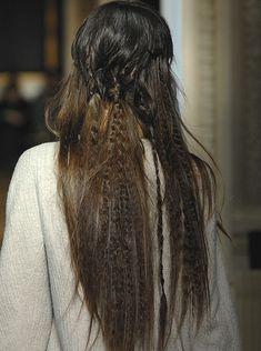 waffled hair