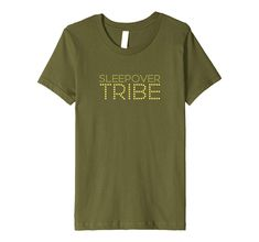 1d19e558 Sleepover Tribe Tshirt Sleepover Party T Shirt For Pajamas: Amazon.co.uk:  Clothing