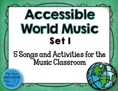 Are you interested in incorporating world music into your music lessons? This set includes music from the Cajun culture, Hawaii/Samoa, Japan, Czech Republic, and China! Included in this set:Bonjour, Mes Amis (Prepare and Practice Fa):*Notation of Song*Recording of Song to aid in text pronunciation*5 Activities to use*Fa Interactive Contour File (PowerPoint)*Fa Melodic Manipulatives (s,l,t,drmfsltd')--colored background and black and white background*Student Staff Board PrintableEpo I Tai Tai…
